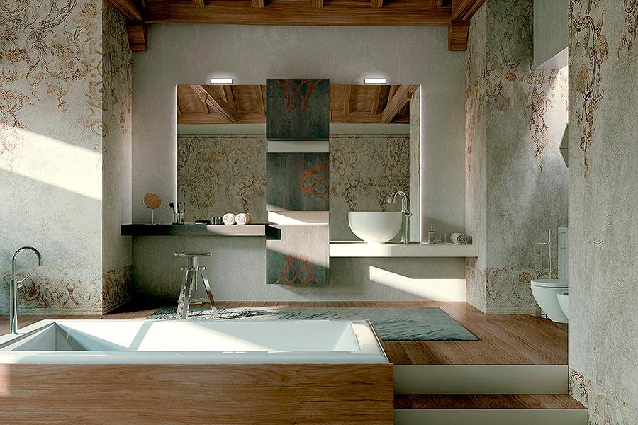 Arcari arredamenti arredamento bagno contemporaneo - Arredamento da bagno ...