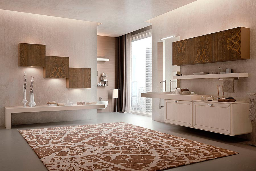 Arcari arredamenti arredamento bagno nuovo classico e for Elementi bagno