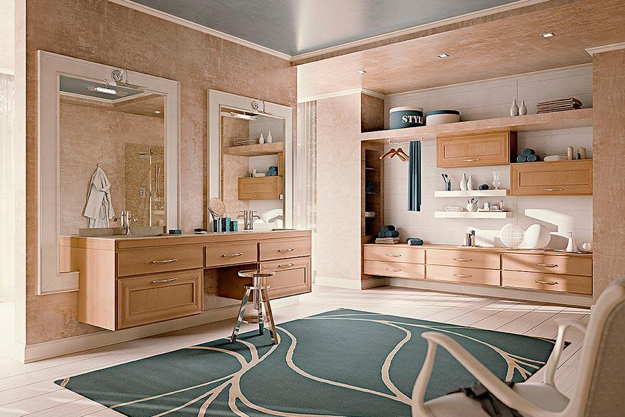 Arcari arredamenti arredamento bagno nuovo classico with for Arredo bagno design lusso