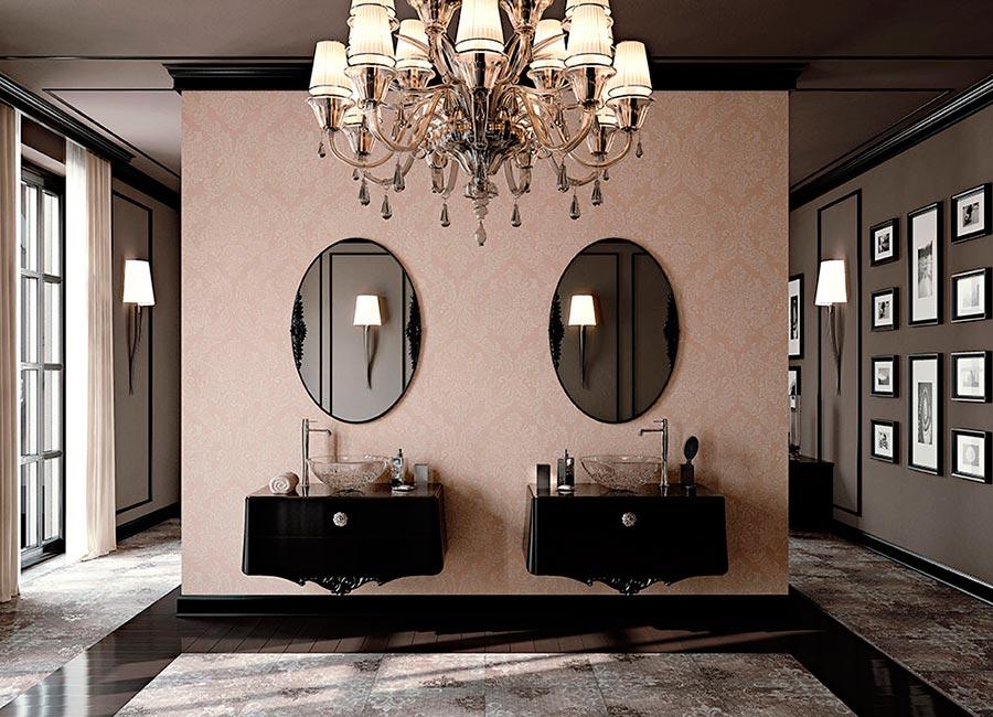 arcari arredamenti - il bagno classico di lusso