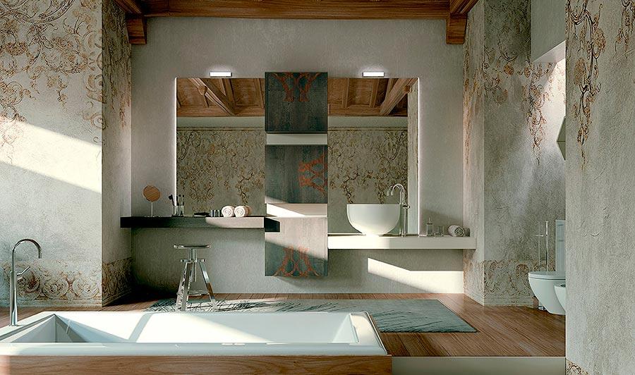 Arcari arredamenti mobili da bagno moderni di lusso for Bagni lusso design