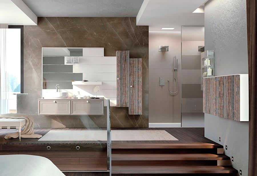 arredamenti - mobili da bagno moderni di lusso - Bagni Lussuosi Moderni