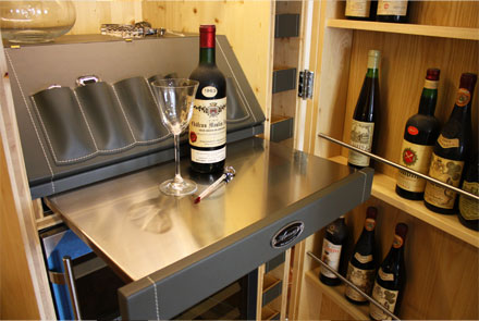 Arcari arredamenti arredo bottiglie vino - Mobili da cantina ...