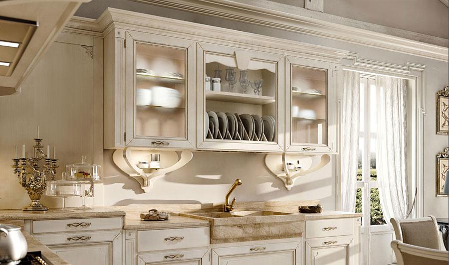 Arcari arredamenti arredo cucina classica for Arredamento in stile coloniale