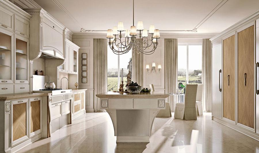 Arcari arredamenti cucina elegante for Stile casa classica