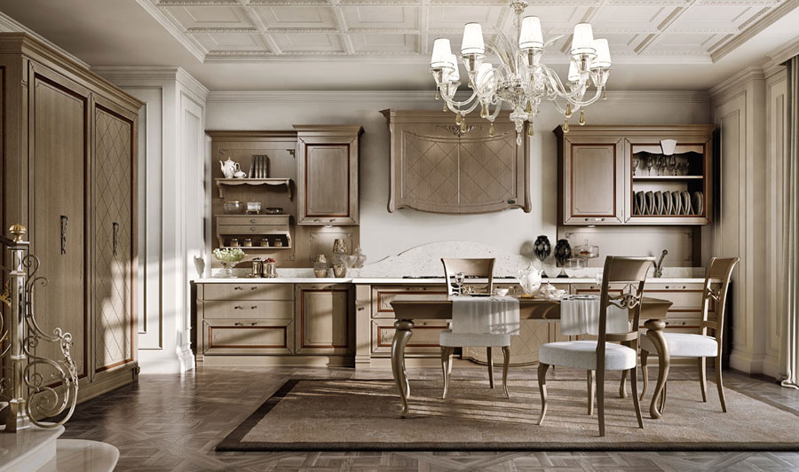 Beautiful Cucine Di Lusso Classiche Photos - Ideas & Design 2017 ...