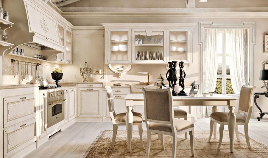 Arcari arredamenti cucine provenzali - Arredo cucina classica ...