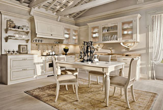 Arcari arredamenti cucine stile provenzale for Arredamento country provenzale