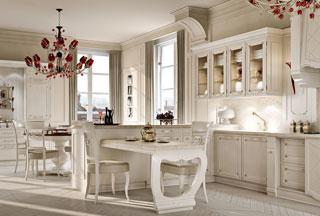Arcari arredamenti mobili cucina for Case arredate classiche