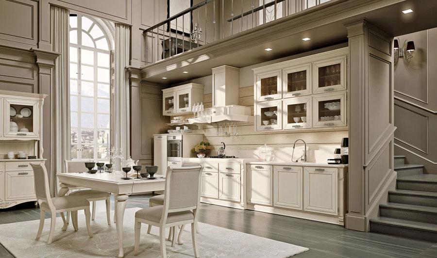 Arcari arredamenti mobili cucina - Arredo cucina classica ...