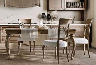 Arcari arredamenti - Sedie e tavoli da cucina