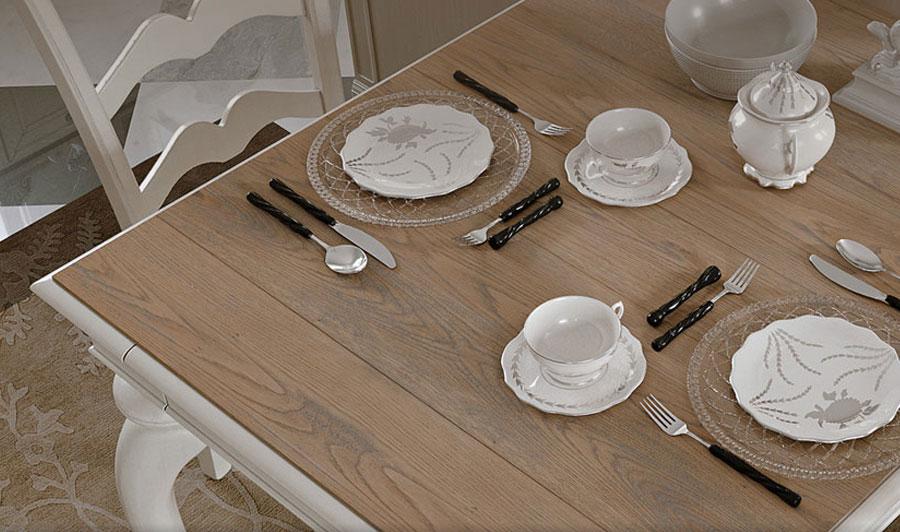 Cucina tavolo ispirazioni - Tavoli da cucina a muro ...